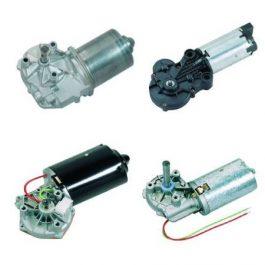 DC motory so závitovkovou prevodovkou